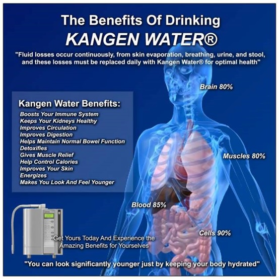 kangen water benefits