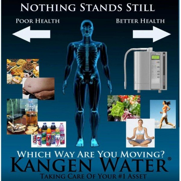 דבר לא נעצר ...בריאות לקויה ------ בריאות טובה יותרלאיזה דרך אתם פונים ?מים בריאות קנגן מטפל בנכס מספר 1 שלך