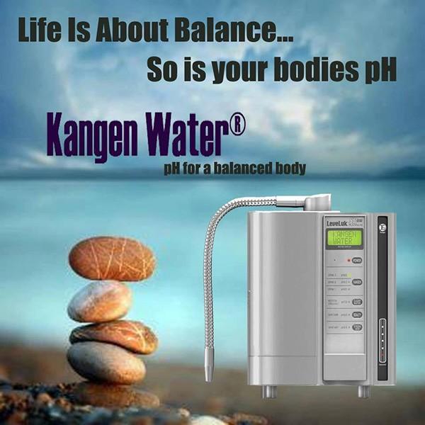 בחיים חשוב איזון, האם ה pH שלך מאוזן? מים בריאים קנגן!